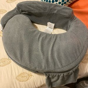 NEW Gray Luxe My Breast Friend Pillow Nursing